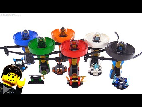 All six LEGO Ninjago 2018 Spinjitzu Masters sets reviewed!