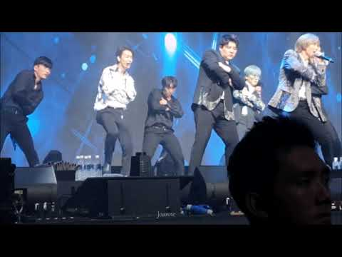 20191110 Super Junior KAMP Singapore - Sorry Sorry (Donghae Focus)