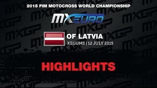 Motocross - Latvia2015 EMX250 Race 1 Highlights