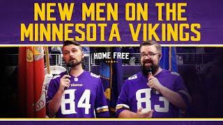 Home Free  - New Men on the Minnesota Vikings