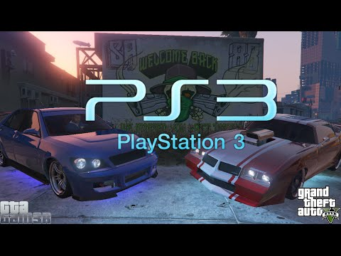GTA 5 ✪ PS3 RARE CARS - OFFLINE - Single Player - Story Mode