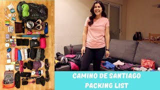 How to Pack for the Camino de Santiago   Packing List 2019