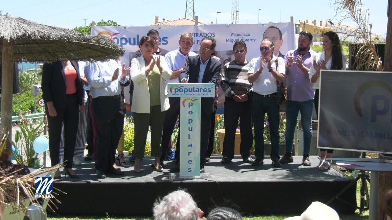 FRANCISCO MIGUEL ÁLVAREZ PRESENTÓ SU CANDIDATURA POR EL PARTIDO POPULAR, EL PASADO SÁBADO