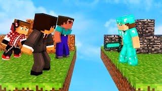 SUPER NOOB VS PRO MINECRAFT! (Minecraft Girlfriend Survival SkyBlock Gameplay)