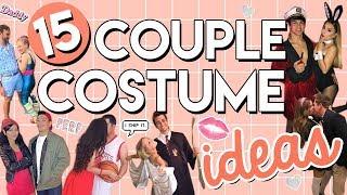 15 COUPLE HALLOWEEN COSTUMES IDEAS! | LAST MINUTE HALLOWEEN COSTUMES 2017!