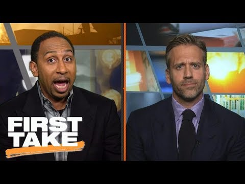 Stephen A. Smith fired up over Michael Jordan's superteam comments | First Take | ESPN