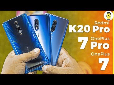 Redmi K20 Pro vs OnePlus 7 vs OnePlus 7 Pro camera comparison: K for Killer cameras?