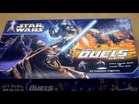 Star Wars Epic Duels Board Game Review