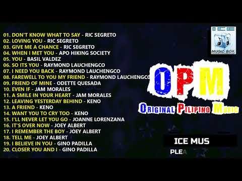 OPM 80s - OLDIES BUT GOODIES - Ric Segreto, Basil Valdez, Gino Padilla, Jam Morale & Joey Albert