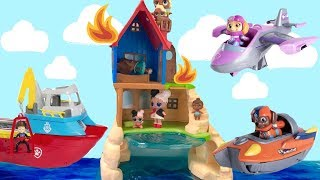 Learn Colors with Best Paw Sea Patrol Toy Learning Videos for Kids Compilation Preschool Educational