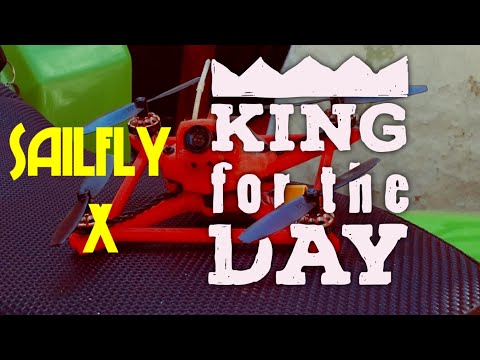 Banggood: FPV day: Sailfly X -Test updated Ccanopy 20º. Parks in Ruta de la Plata