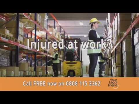 Your Legal Friend TV Campaign – Work Accidents and Illnesses