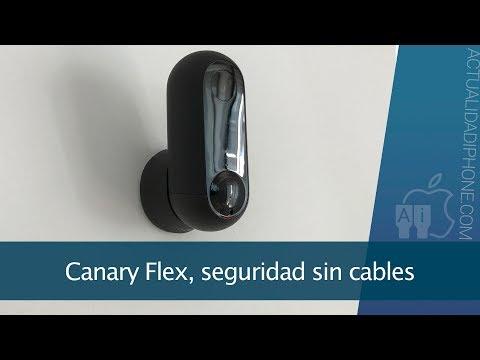 Canary Flex, una cámara sin cables para interior y exterior