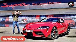 Toyota GR Supra 2019   Primera prueba / Test / Review en español   coches.net