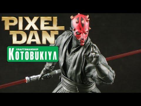 Kotobukiya Star Wars ArtFX+ Darth Maul 1/10 Scale Statue Review