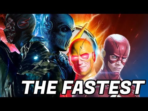 Who is the fastest CW speedster? - Savitar, Zoom, Black Flash etc. - The Flash Theory