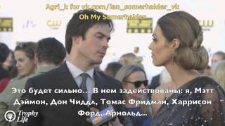 Иэн Сомерхолдер, Ian Somerhalder Talks New Showtime Show & TVD Spoilers- CCMA 2014 (rus Sub)