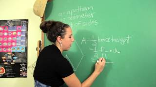 The Formula for Finding the Area of a Regular Polygon When the Perimeter & the ... : Science & Math