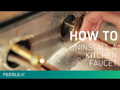 uninstall-kitchen-faucet