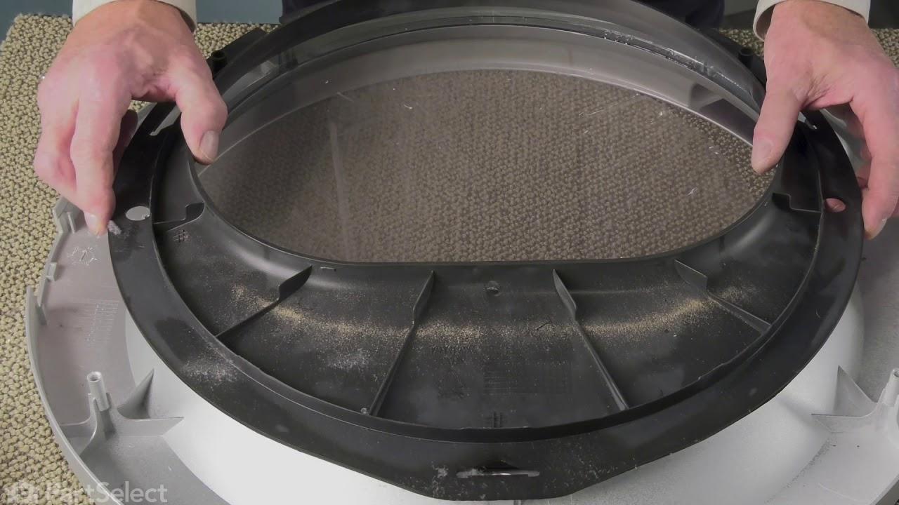 Replacing your Frigidaire Dryer Outer Door Lens