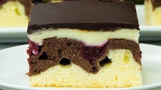 Niezwykle smaczne ciasto, które pochodzi z Niemiec i Austrii Ciasto-Fale Dunaju! | Smaczny.tv