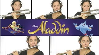 Aladdin: A Whole New World on Flute + Sheet Music!