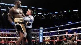 IM BACK!!! Wilder vs Fury fight reaction