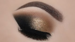 ♡ Gold Glam Cat Smokey Eyes & Perfect Skin Makeup Tutorial | Melissa Samways ♡