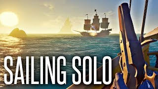 SAILING SOLO - Sea of Thieves