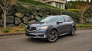 2017 Acura MDX SH-AWD Advance car review