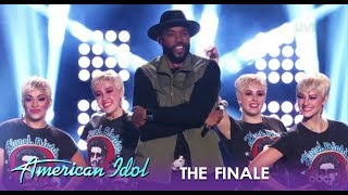 Montell Jordan Recaps The Season With Katy Perry Lookalikes & Favorite Contestants