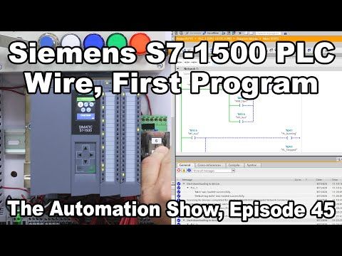 Siemens S7-1500: First Time Wiring and Programming