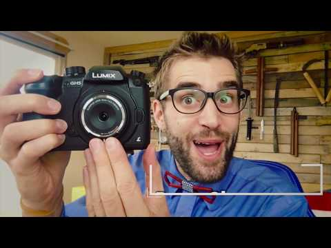 ★★★★★ Olympus 9mm f8.0 Fisheye Review & Demo of this bodycap lense