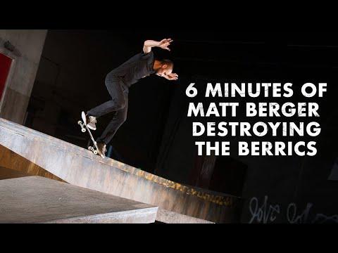6 Minutes Of Matt Berger Destroying The Berrics