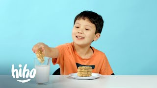 Cookies from Around the World | Kids Try | HiHo Kids