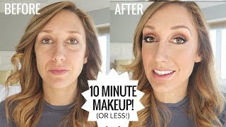 10 Minute makeup routine | How I do my makeup, every day! - Video Youtube