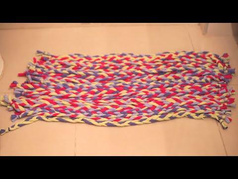 Cómo hacer una alfombra de baño | @iMujerHogar