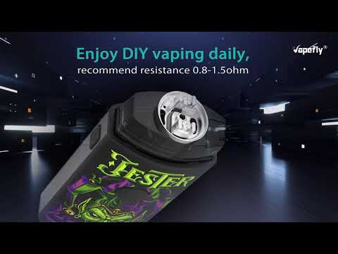 YouTube Video zu Vapefly Jester Pod DIY Starterset  2 ml
