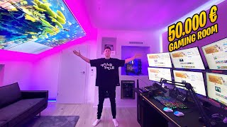 Mein 50.000€ Gaming Zimmer! (Room Tour)