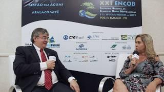 Ricardo Andrade sobre as atividades desenvolvidas pela ANA