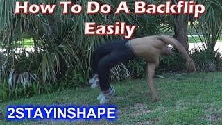 How To Do A Back Handspring In One Day - How To Do A Back Handspring