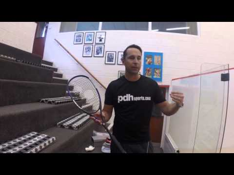 Eye rackets X-lite 110 Control Squash Racket Review by PDHSports.com