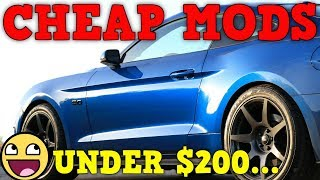 Best Mods Under $200 for the 2018-2019 Mustang GT