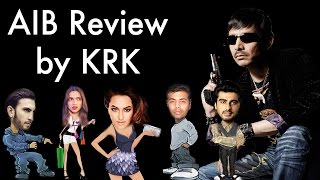 All India Bakchod AIB Knockout Roast Review By KRK  KRK Live