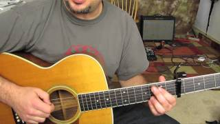 Mumford And Sons   Little Lion Man   How To Play On Acoustic Guitar   Lesson Tutorial
