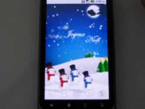 Video of Christmas Card Live Wallpaper