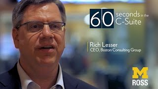 How to Influence People - CEO of Boston Consulting Group | 60 Seconds in the C-Suite