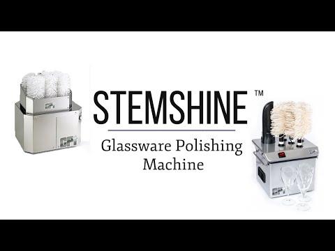 The Stemshine Wine Glass Polishing Machine