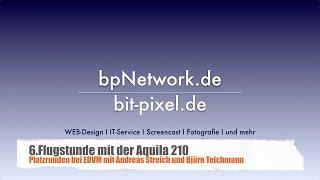 preview picture of video '6. Flugstunde: Touch and Go's auf dem Flugplatz Hildesheim EDVM'