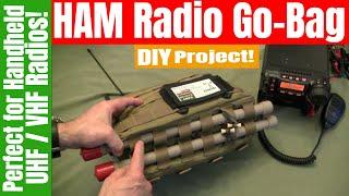 Go-Bag • Ham Radio Go-Kit  |  Yaesu VX8-R Handheld UHF / VHF Radio